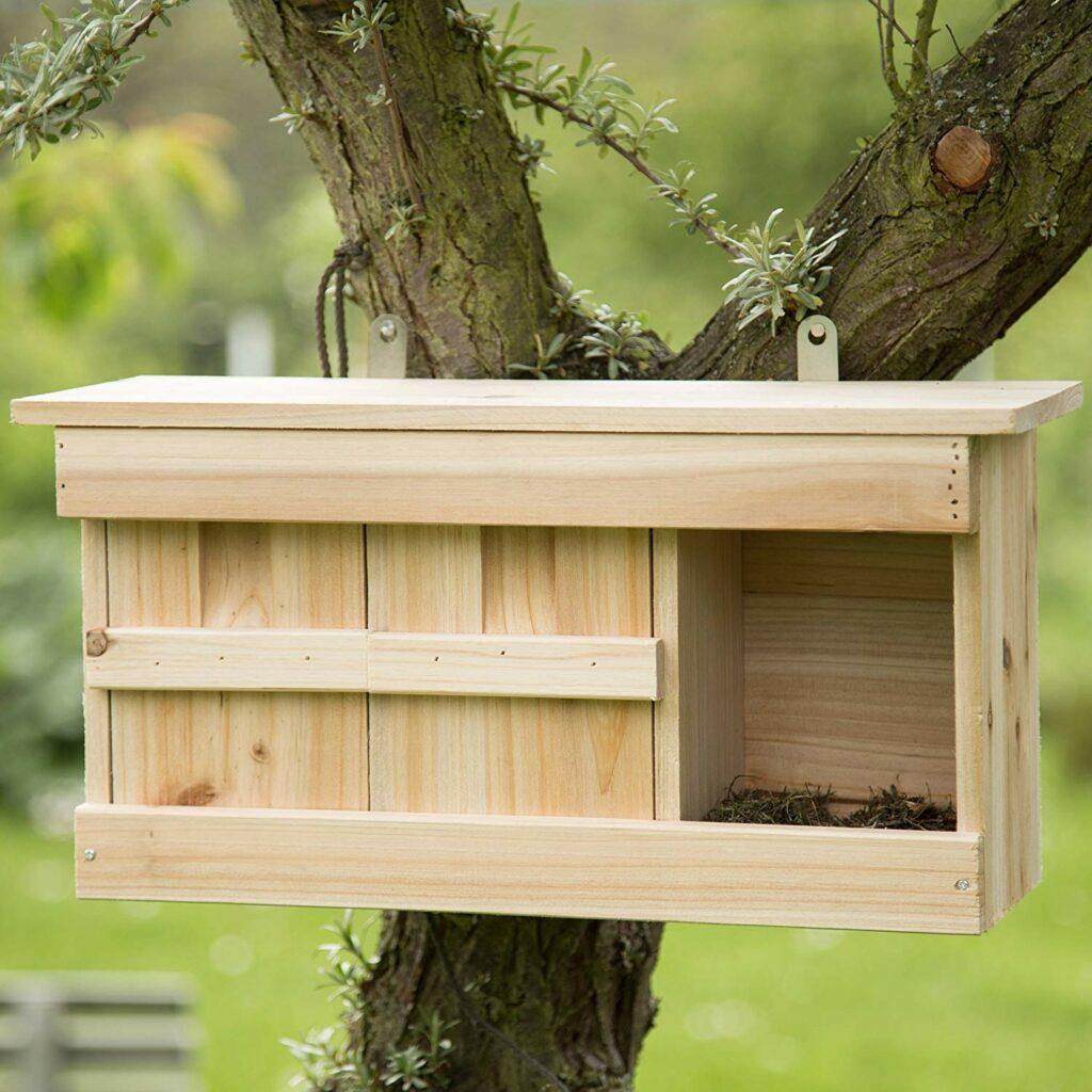 Vogelfutter Test Spatzenhaus